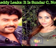 Sri Reddy Leaks: After AR Murugadoss, Lawrence And Srikanth, It Is Sundar C!!! Tamil News