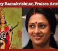 Lakshmy Ramakrishnan Praises Aruvi Team! Tamil News