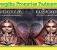 Deepika Promotes Padmavat! Tamil News