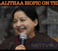 Late CM Jayalalithaa Biopic Is Getting Ready! Tamil News