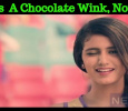Priya Prakash Ad Impressed The Youth! It's A Chocolate Wink, Now! Tamil News