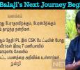 RJ Balaji's Next Journey Begins! Tamil News