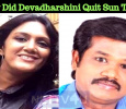 Why Did Devadharshini Quit Sun TV?