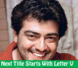 Ajith's Next Movie Title Leaked!