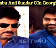 Simbu And Sundar C Movie To Roll On Georgia's Floors! Tamil News