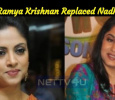 Is This The Reason Why Ramya Krishnan Replaced Nadhiya? Tamil News