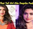 Who Is That Tall Girl Like Deepika Padukone? Tamil News