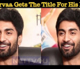 Atharvaa Gets The Title For His Next! Tamil News