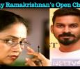 Lakshmy Ramakrishnan's Open Challenge To Santhosh Jayakumar! Tamil News
