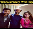 Bobby Simha's Family Photo With Superstar Goes Viral! Tamil News