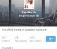 4 Million Followers For Superstar Rajini! Tamil News