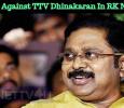 Protest Against TTV Dhinakaran In RK Nagar! Tamil News