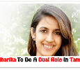 Chiranjeevi's Niece To Do A Dual Role On Her Tamil Debut! Tamil News