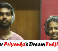 Singer Priyanka's Wish Fulfilled! Tamil News