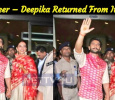 Ranveer – Deepika Returned From Italy! Hindi News