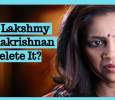 Did Lakshmy Ramakrishnan Delete It?