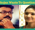 Vani Bhojan Wants To Question Vijay!