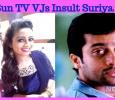 Sun TV Makes Fun Of Suriya's Height! Tamil News
