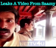 Vikram Leaks A Scene From Saamy Square! Tamil News