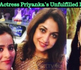 Serial Actress Priyanka's Unfulfilled Dream! Tamil News