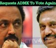 Stalin Requests ADMK To Vote Against BJP!