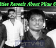Atlee Reveals About Vijay 63! Tamil News