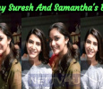 Keerthy Suresh And Samantha Praise Each Other!