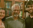 Arav Spends Time With Ace Director Mani Ratnam