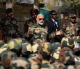 Modi Celebrated Diwali With The Army Men!