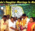 Vadivelu's Daughter Marriage In Madurai! Tamil News