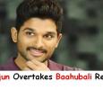 Allu Arjun Overtakes Baahubali Records! Tamil News