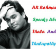 AR Rahman Speaks About Thala Thalapathy! Tamil News