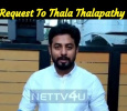 Aari's Request To Thala Thalapathy Fans! Tamil News