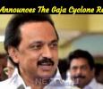 DMK Announces The Gaja Cyclone Relief! Tamil News