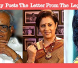 Lakshmy Ramakrishnan Posts The Appreciation Letter From K Balachander!