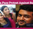 Suriya Fans Started Protesting Against Sun TV!