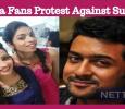 Suriya Fans Started Protesting Against Sun TV! Tamil News