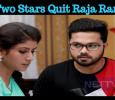 Two Stars Quit The Popular Serial Raja Rani! Tamil News