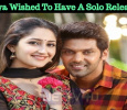 Arya Wished To Have A Solo Release! Tamil News