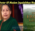The Title Poster Of Madam Jayalalithaa Biopic Is Out! Tamil News
