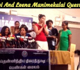 Chinmayi And Leena Manimekalai Questioned By The Press And Media!