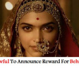 Is This Lawful To Announce Reward For Sanjay Leela Bhansali And Deepika's Heads?