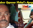 PMK Leader Ramadoss Opposes Vishal's Ayogya Poster! Tamil News