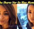 Today Is World Children's Day! Trisha Shares Her Go Blue Moment! Tamil News