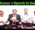 Sivakumar's Mahabharatham Speech In Italian!