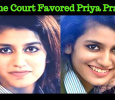 Supreme Court Favors Priya Prakash Varrier! Tamil News
