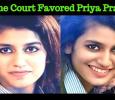 Supreme Court Favors Priya Prakash Varrier! Tamil News