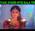 Nayantara In The Sets Of Sye Raa Narasimha Reddy!