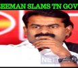 Seeman Slams TN Government For Sasikala!