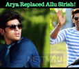 Arya Replaced Allu Sirish! Tamil News